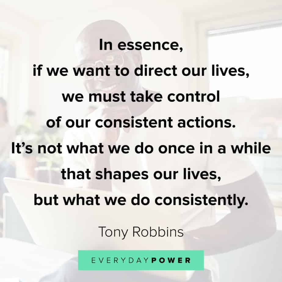 encouraging quotes about consistent action