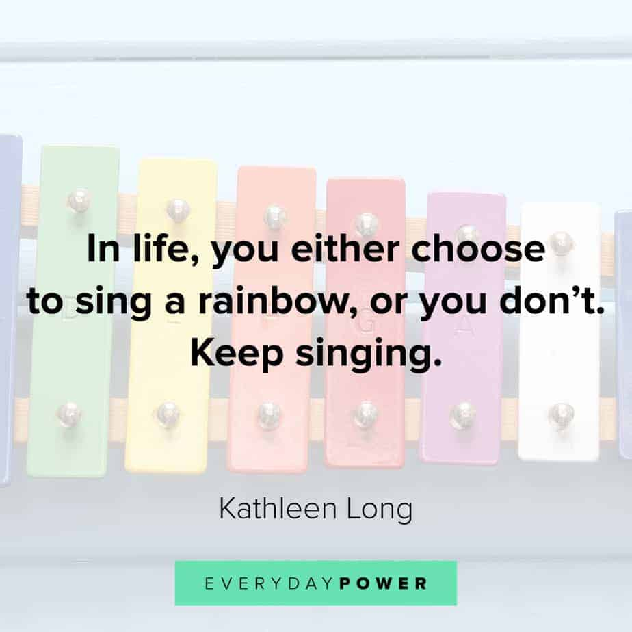 beautiful Rainbow quotes