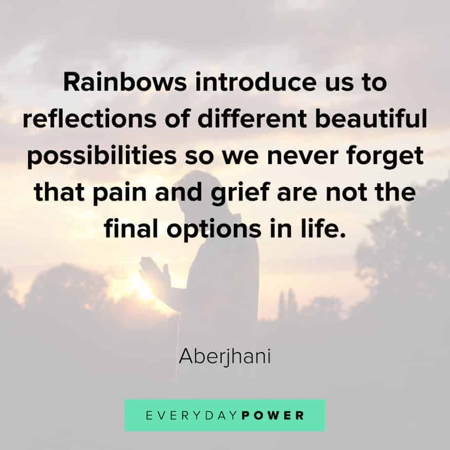 Rainbow quotes about possibilities