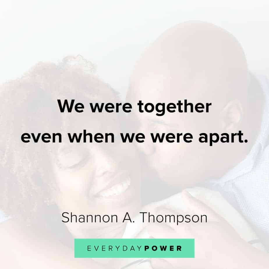 Relationship Quotes on being together