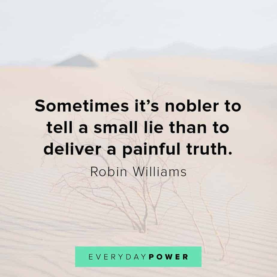 Robin Williams quotes on truth