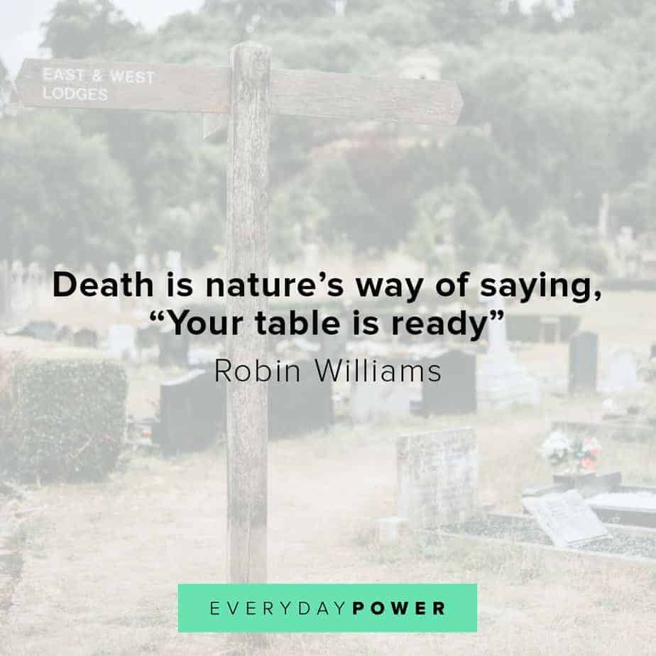 Robin Williams quotes on nature