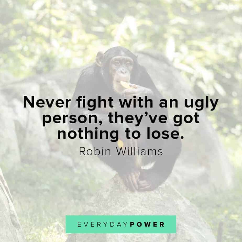 Robin Williams quotes on losing
