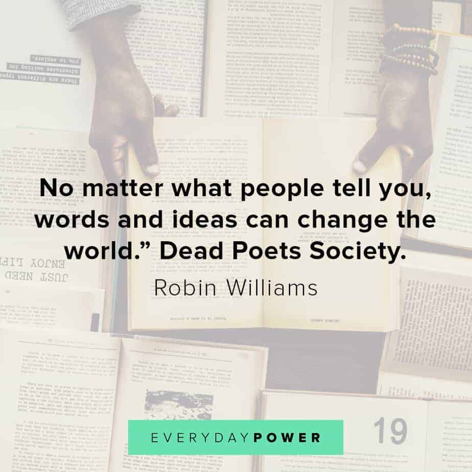 Robin Williams quotes on change