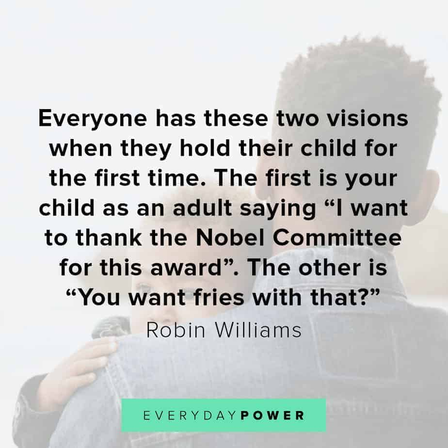 Robin Williams quotes on children