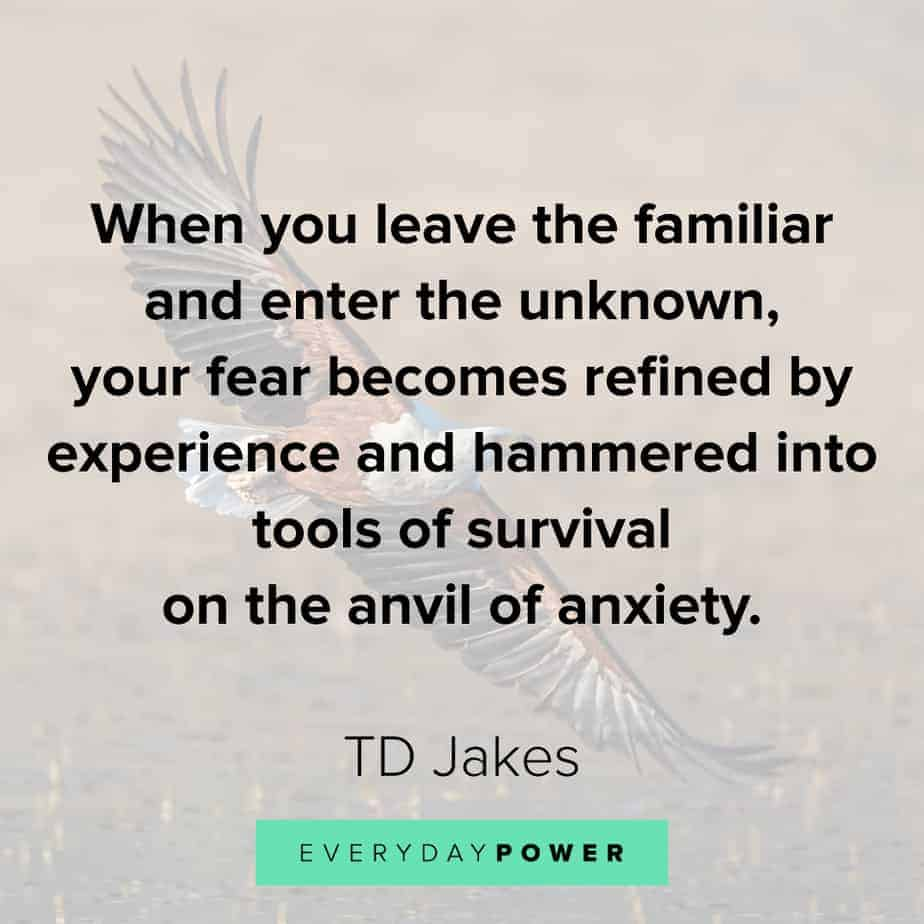 TD Jakes Quotes about fear