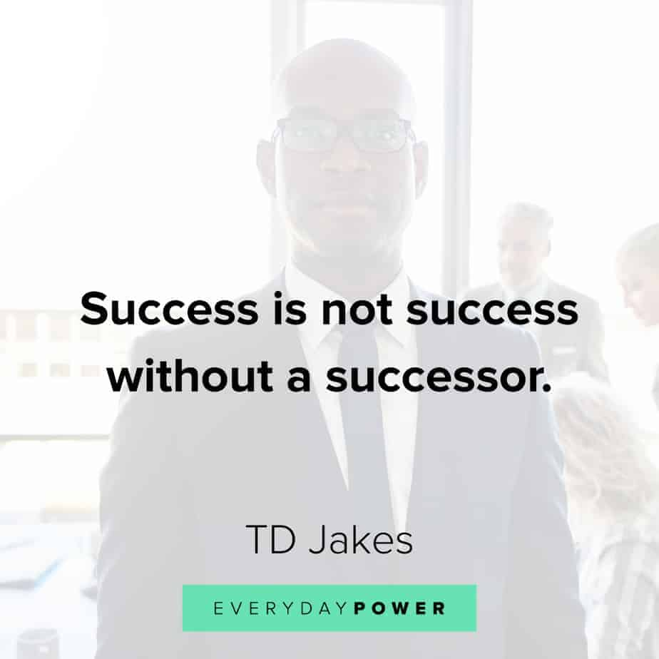 TD Jakes Quotes about determination
