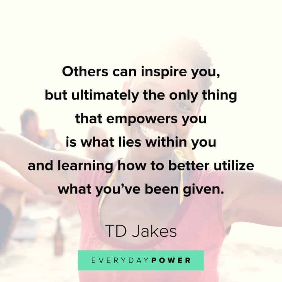 TD Jakes Quotes about learning