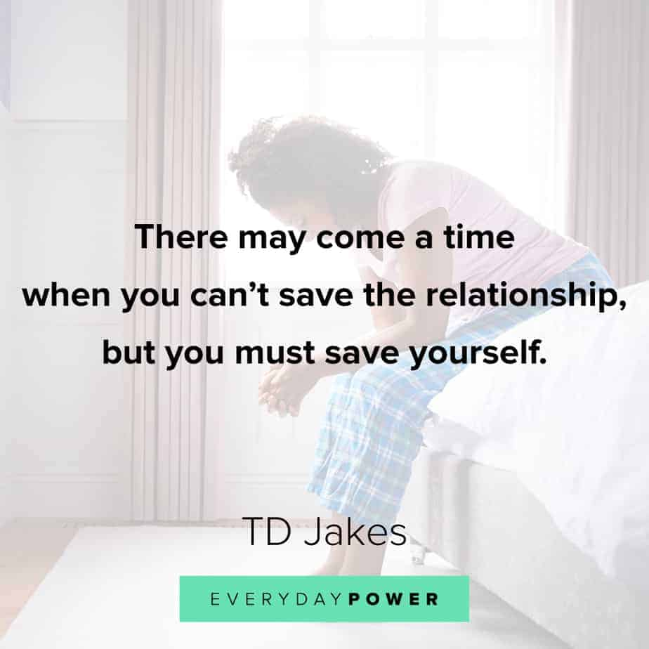 TD Jakes Quotes about relationships