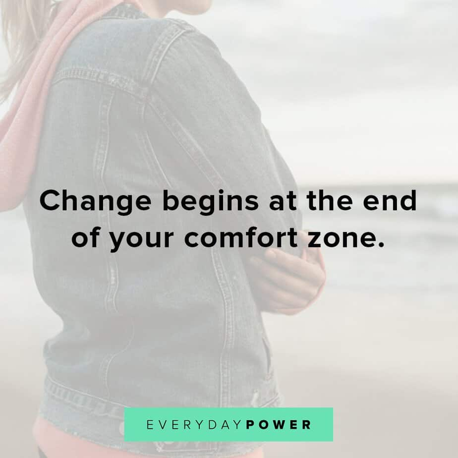 Thursday Quotes about comfort zone