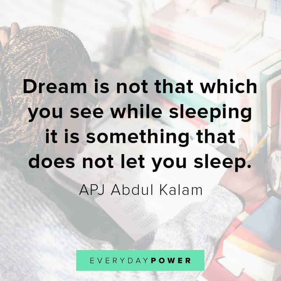Thursday Quotes about dreams