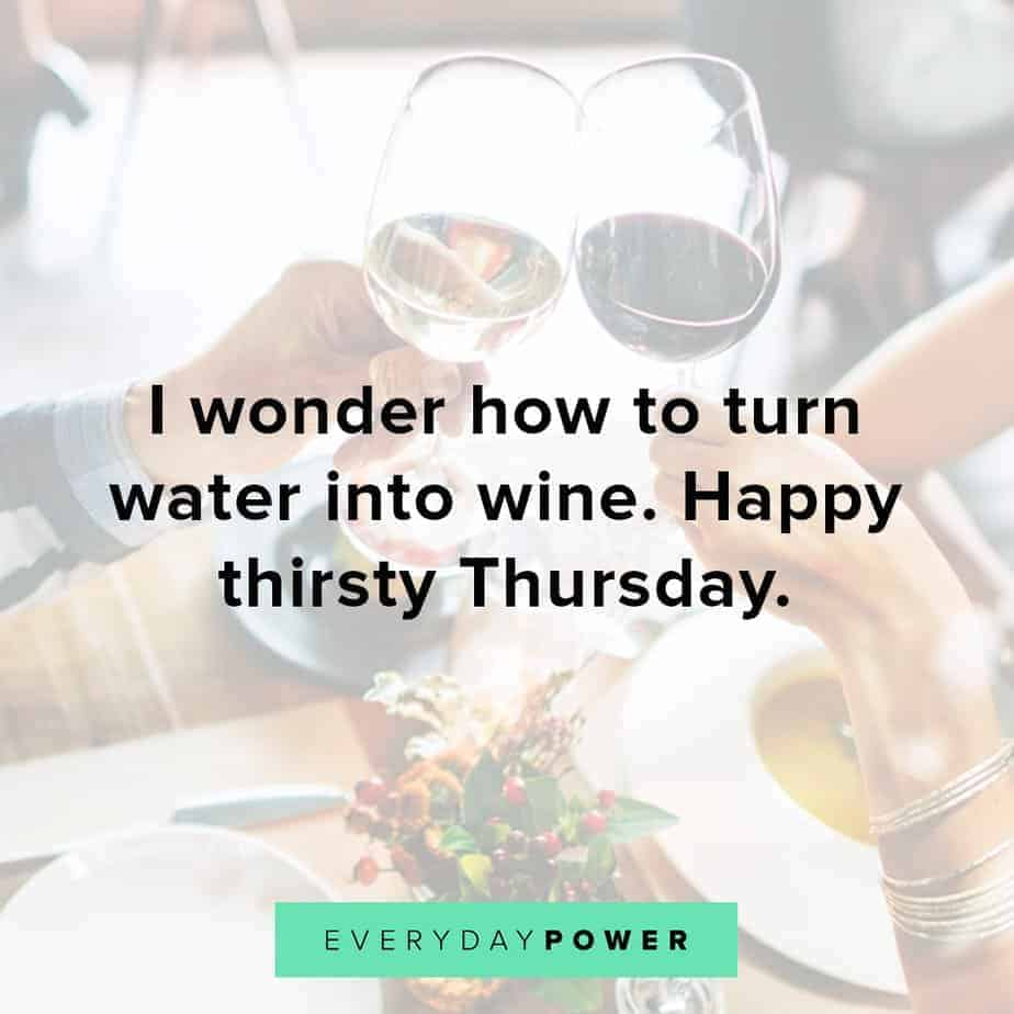 Thursday Quotes about water
