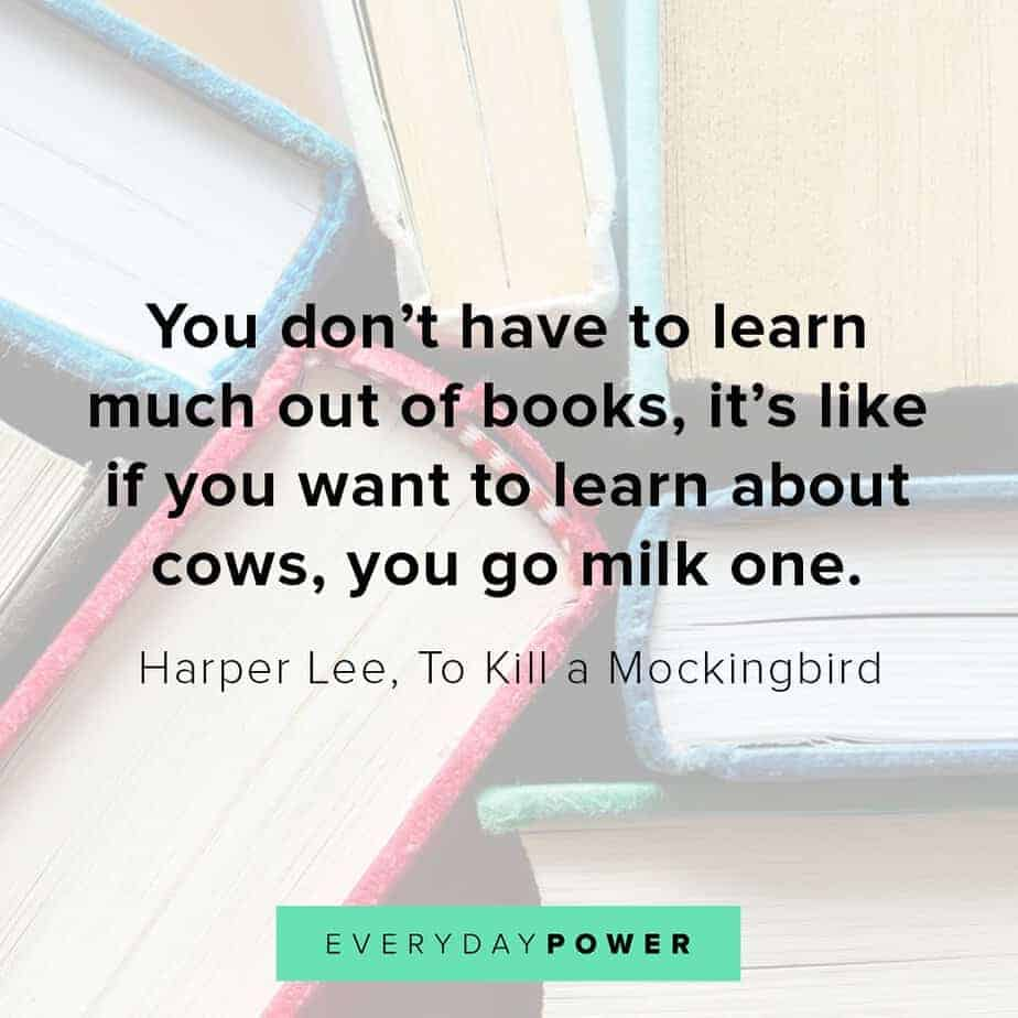 To Kill a Mockingbird Quotes on learning