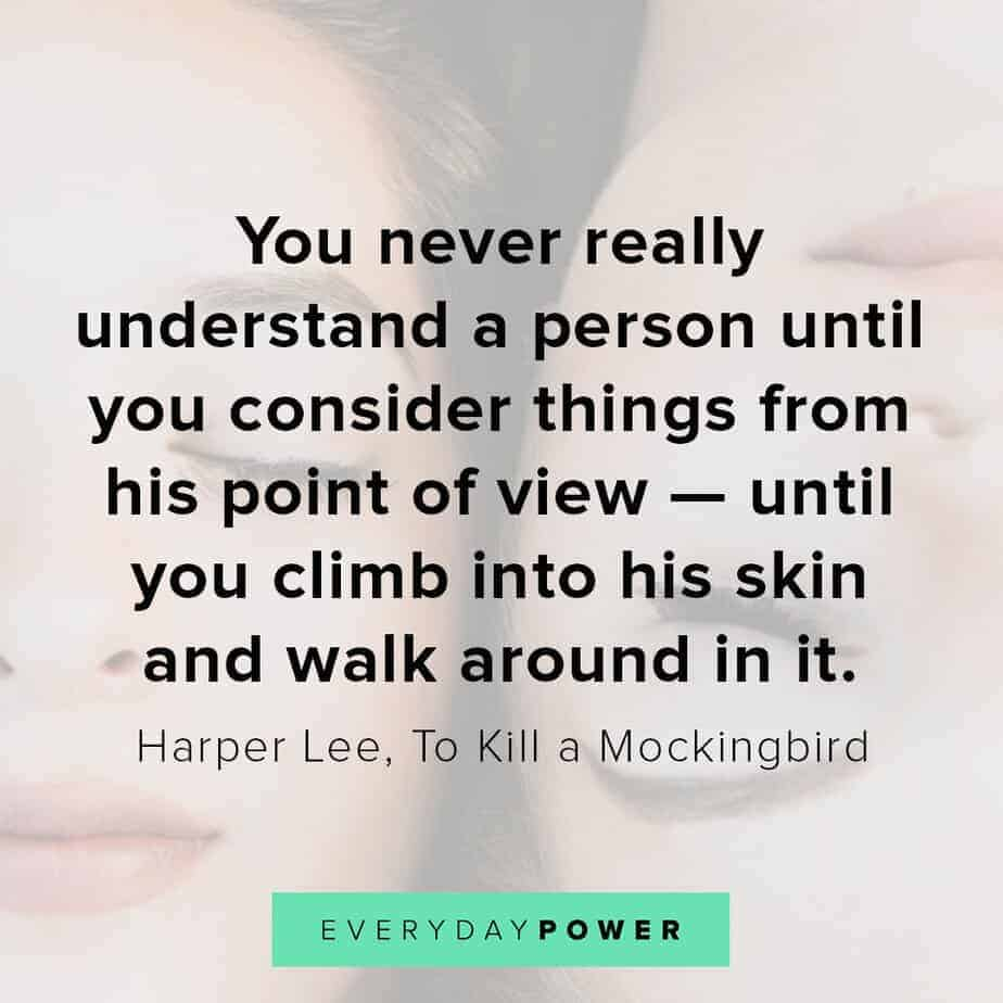 To Kill a Mockingbird Quotes on understanding people