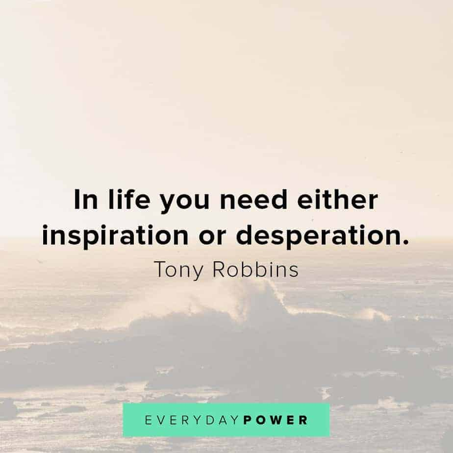 inspirational Tony Robbins quotes
