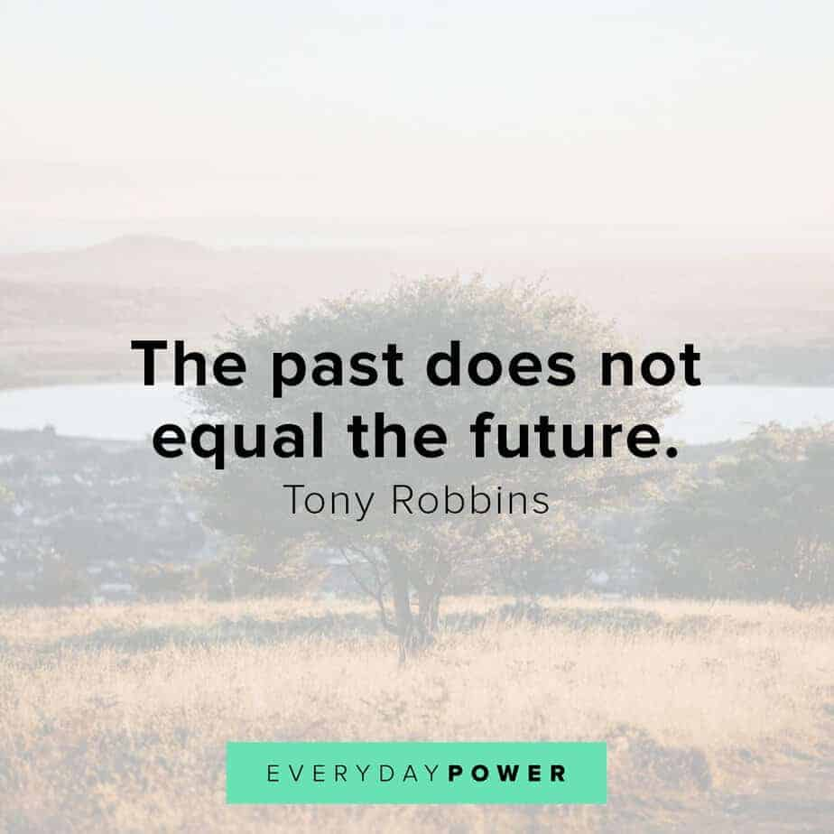 Tony Robbins quotes on the future