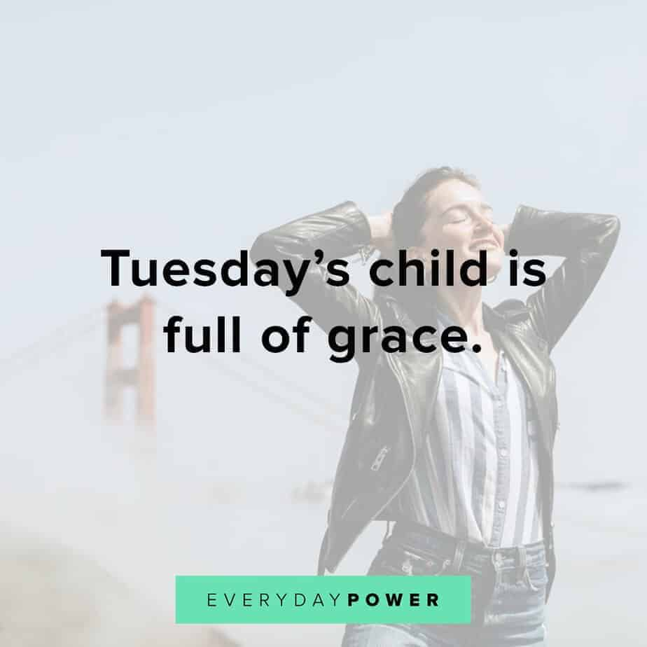 Tuesday quotes about grace