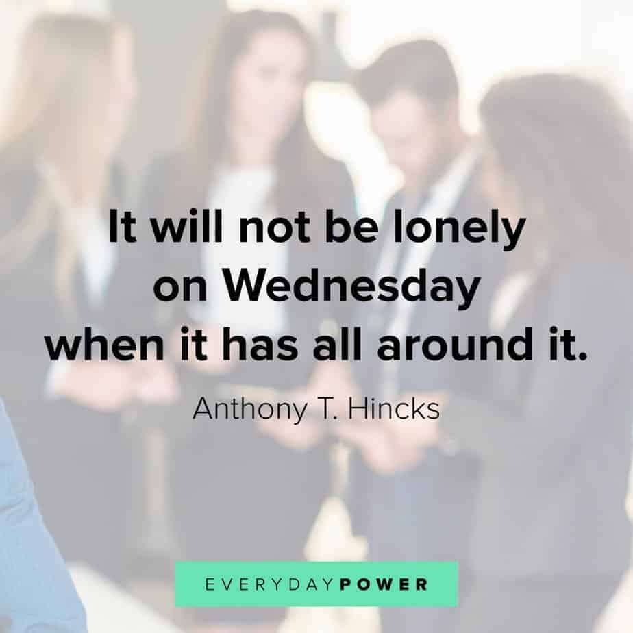 Wednesday Quotes on getting around it