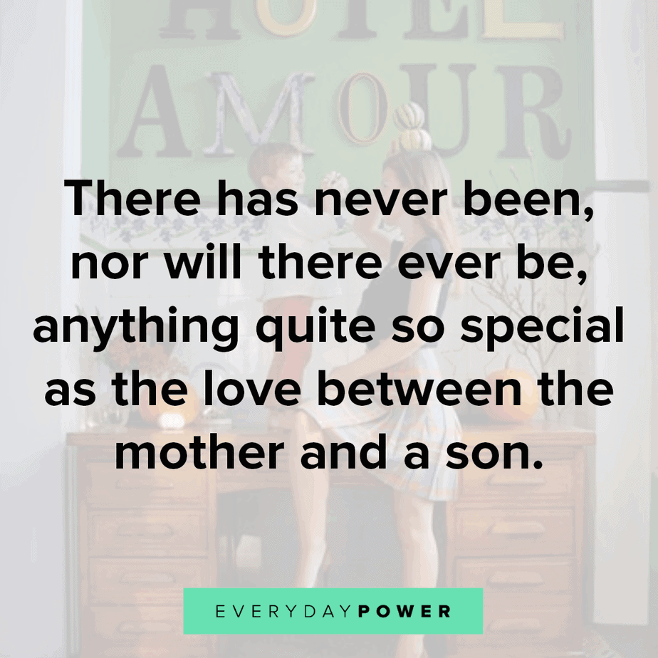inspiring Mother and Son Quotes
