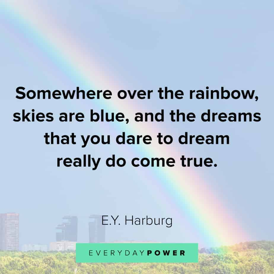 Rainbow quotes to inspire you