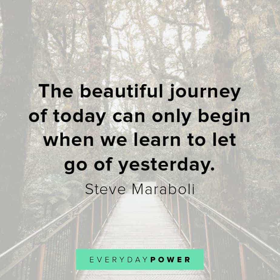 letting go quotes about the journey