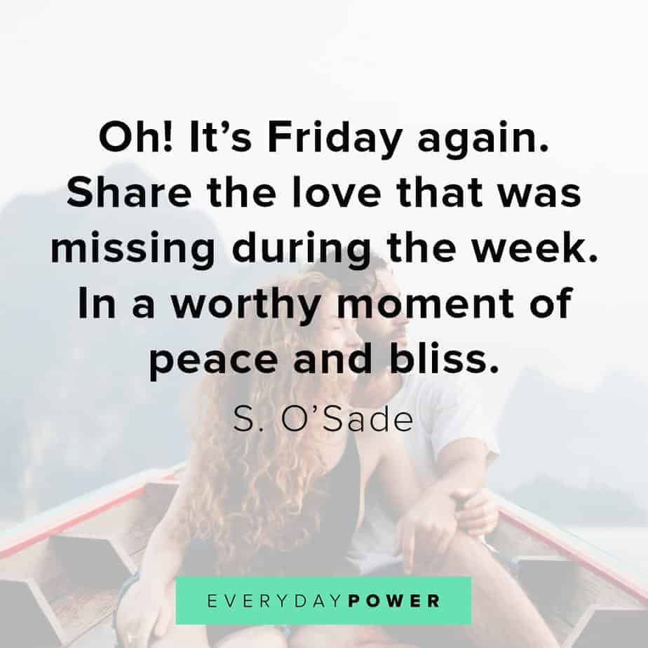 happy friday quotes about love