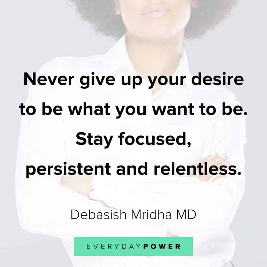 don't give up quotes about persistence