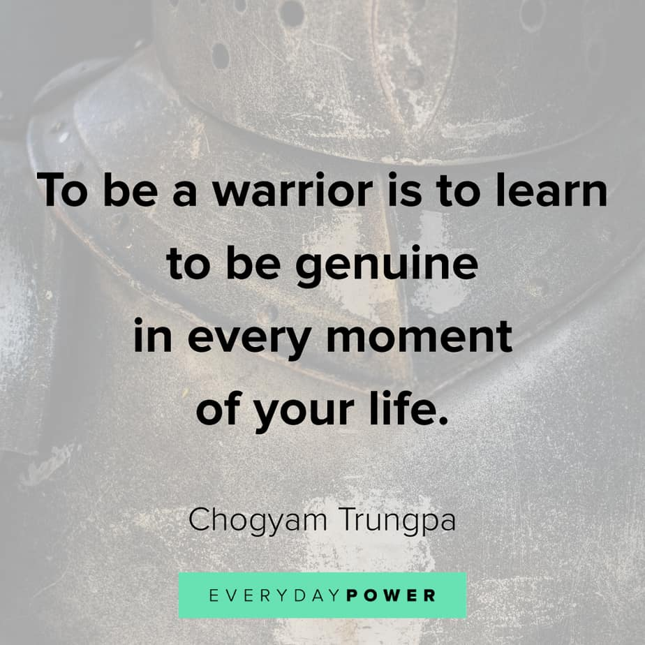 warrior quotes about life