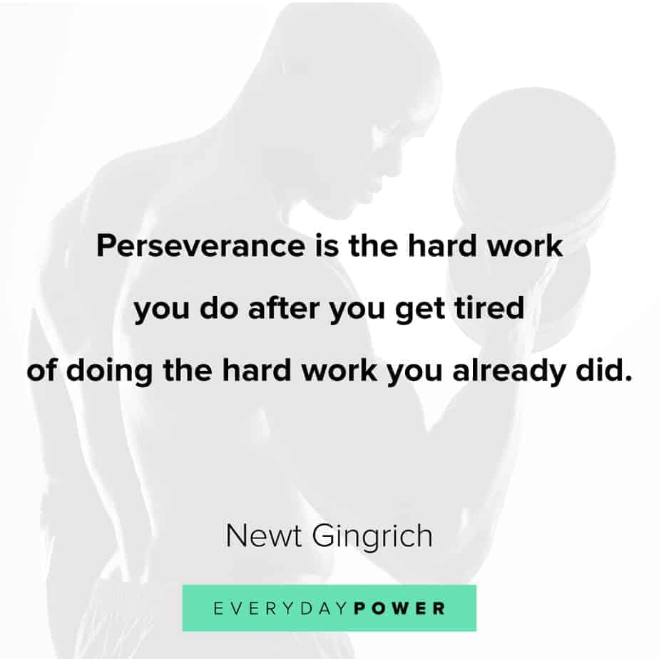 giving up quotes about perseverance