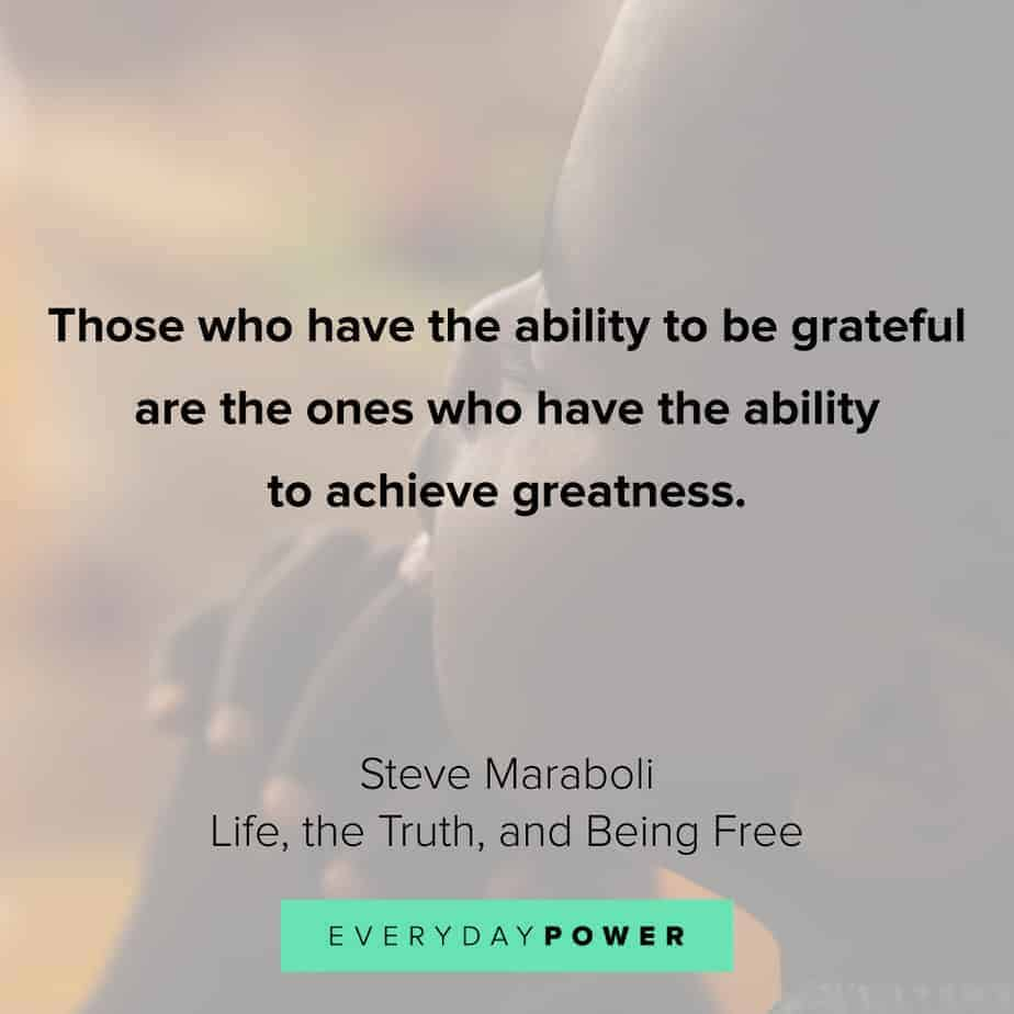 gratitude quotes about achievement