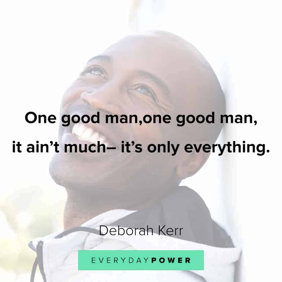 motivational Good Man Quotes