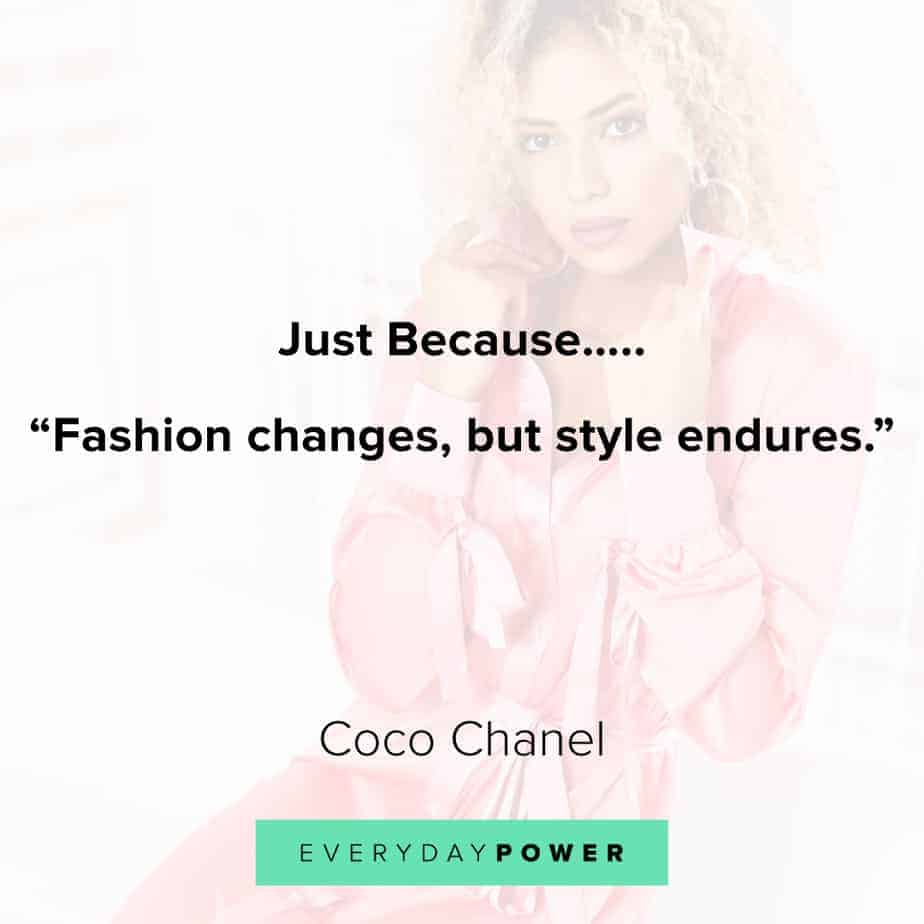 inspirational quotes about change and style
