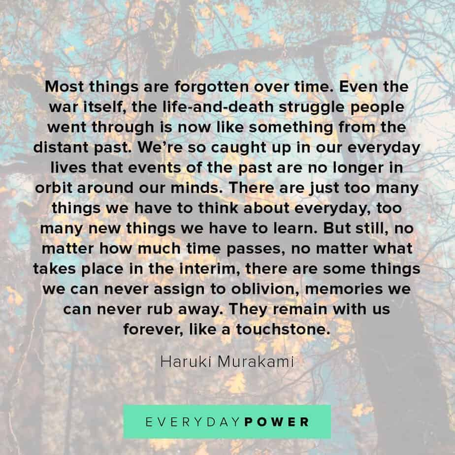 letting go quotes about memories