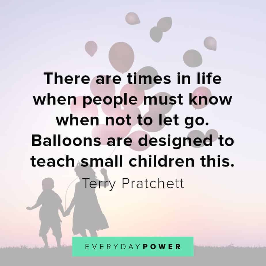 letting go quotes about children