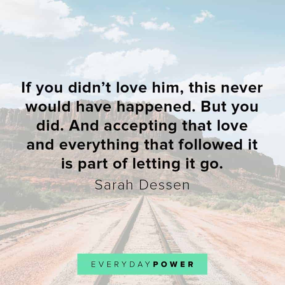 letting go quotes about loving him