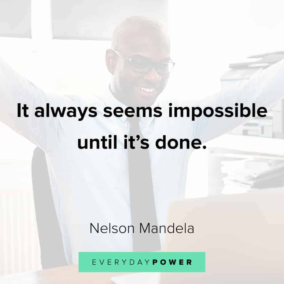 never give up quotes on getting it done