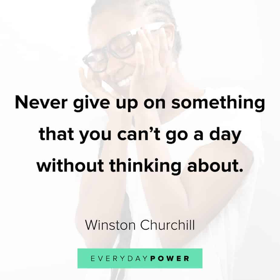 never give up quotes about dreams