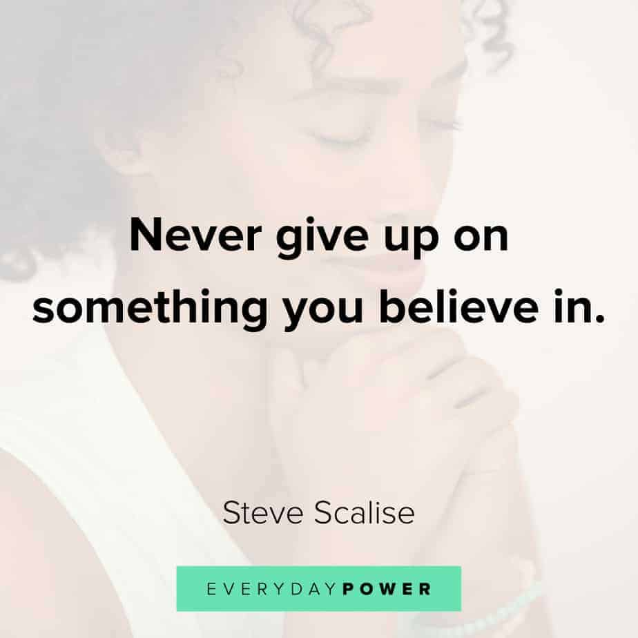 never give up quotes about self belief