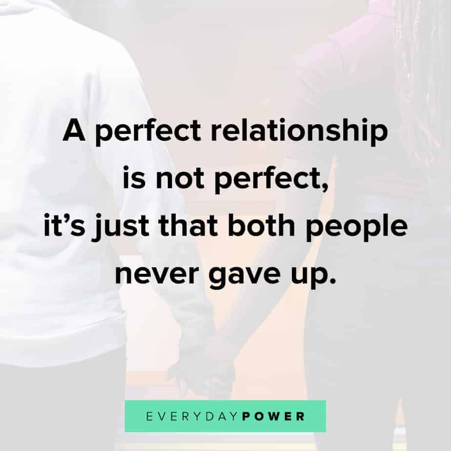 Relationship Quotes about not giving up