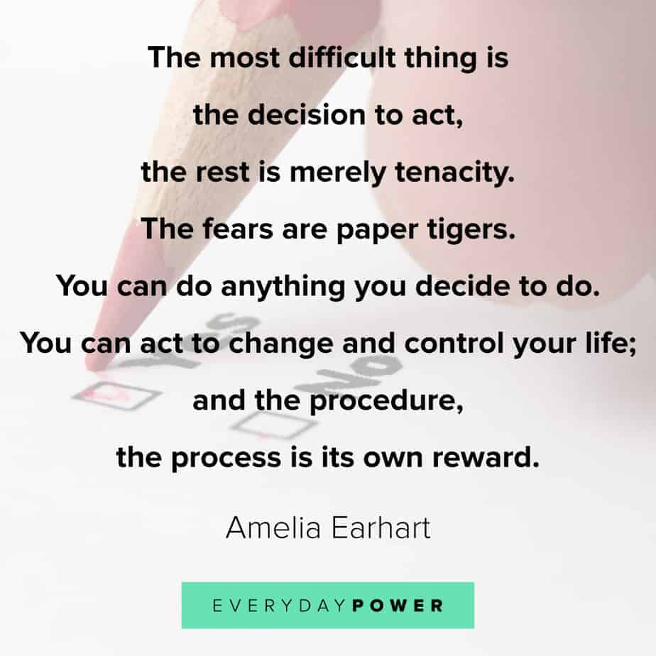 quotes about choices and fear