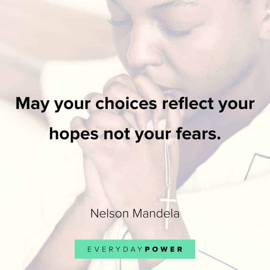 quotes about choices and hope