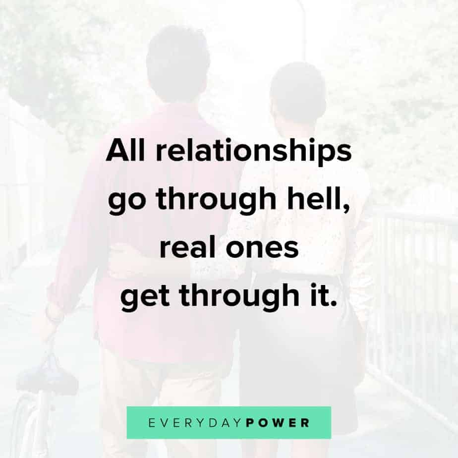 Relationship Quotes on what they go through