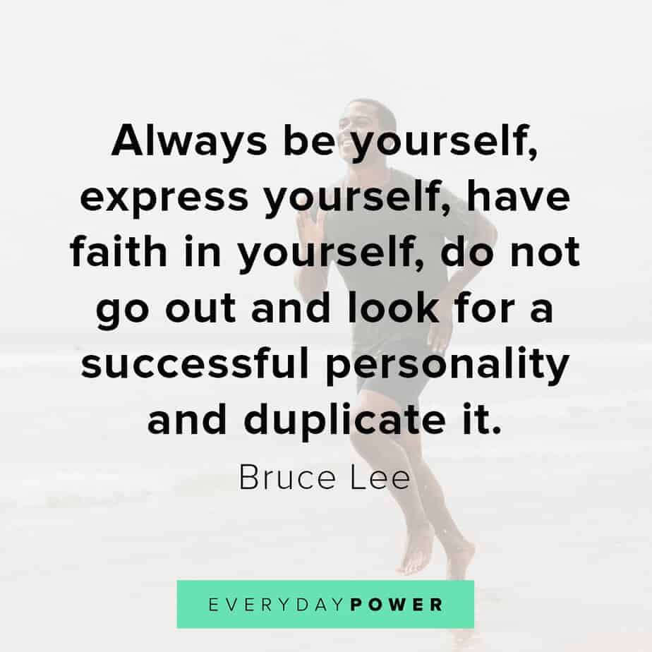 selfie quotes and captions on having faith in yourself