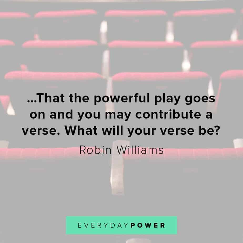 Robin Williams quotes on contribution