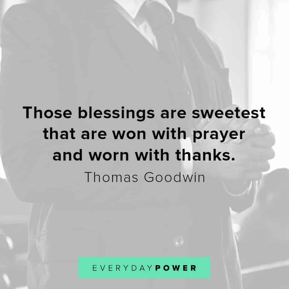 Blessed quotes about prayer