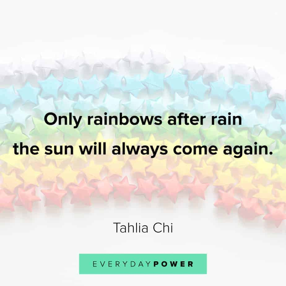Rainbow quotes to make your day
