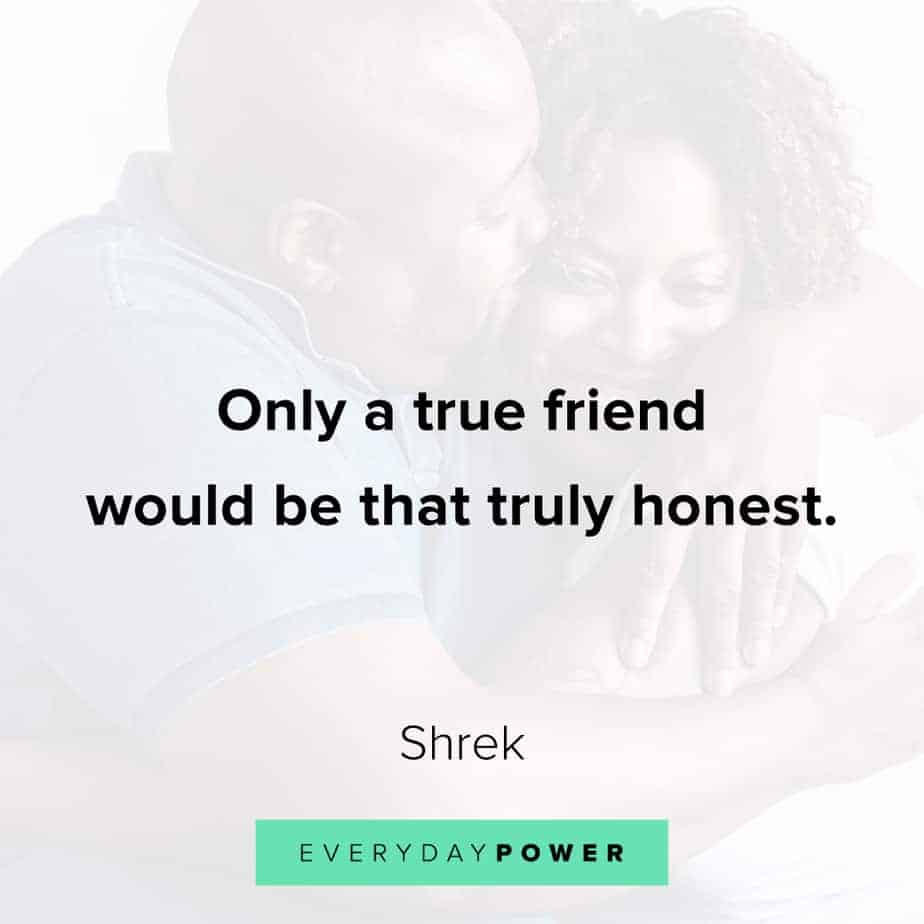 honest quotes about friends