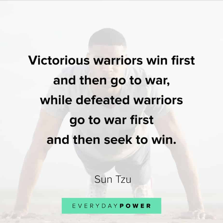 warrior quotes about winning