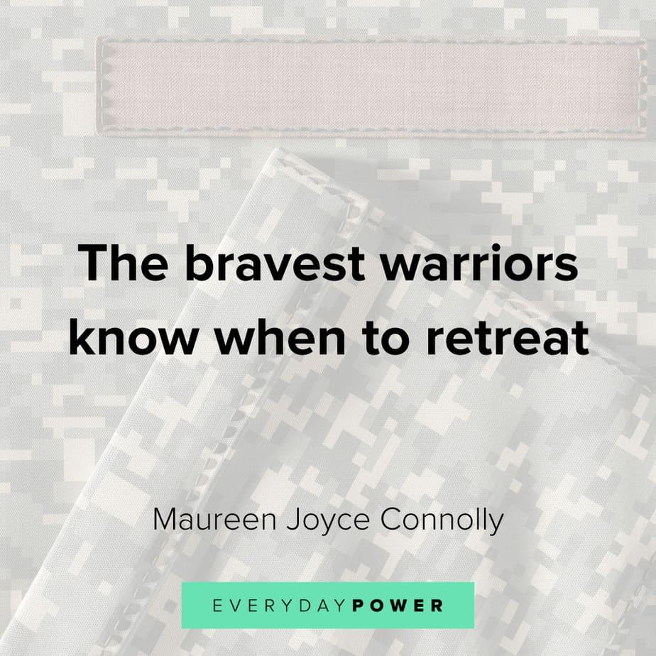 brave warrior quotes