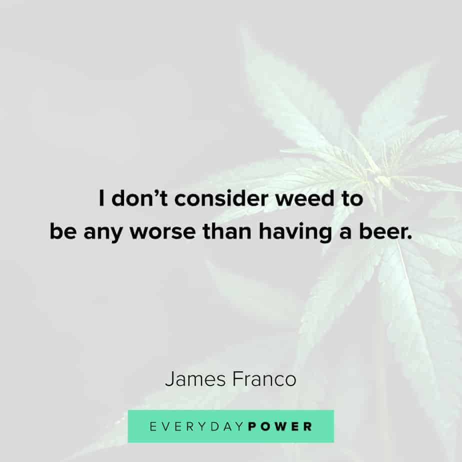 Weed Quotes about beer